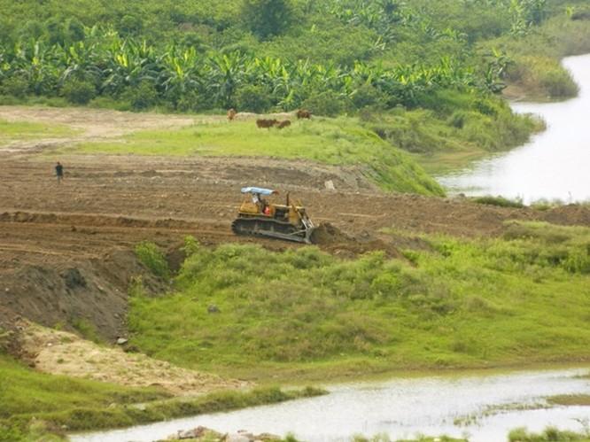 Hành lang thoát lũ sông Hồng có tiếp tục bị san lấp? ảnh 1