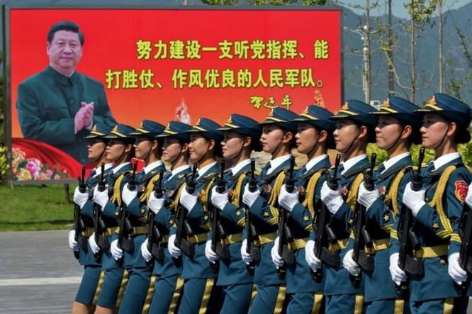 """Ảnh Trung Quốc chuẩn bị cho cuộc duyệt binh """"khủng"""" nhất trong lịch sử ảnh 1"""