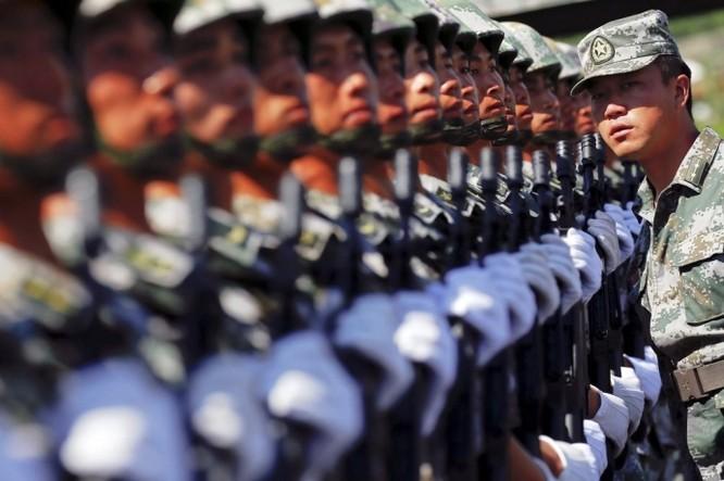 """Ảnh Trung Quốc chuẩn bị cho cuộc duyệt binh """"khủng"""" nhất trong lịch sử ảnh 10"""