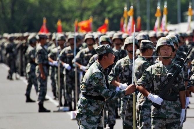 """Ảnh Trung Quốc chuẩn bị cho cuộc duyệt binh """"khủng"""" nhất trong lịch sử ảnh 11"""