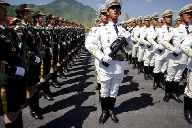 """Ảnh Trung Quốc chuẩn bị cho cuộc duyệt binh """"khủng"""" nhất trong lịch sử ảnh 9"""
