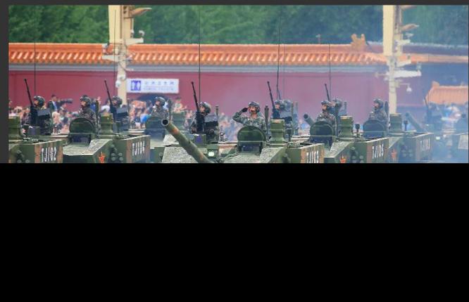 """Ảnh Trung Quốc chuẩn bị cho cuộc duyệt binh """"khủng"""" nhất trong lịch sử ảnh 6"""
