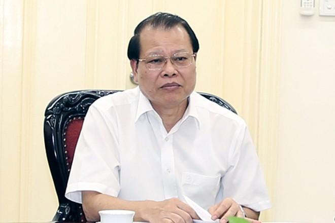 Phó Thủ tướng Vũ Văn Ninh, Trưởng Ban chỉ đạo đổi mới và phát triển doanh nghiệp chủ trì buổi làm việc