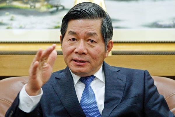 Bộ trưởng Bộ Kế hoạch và Đầu tư Bùi Quang Vinh.