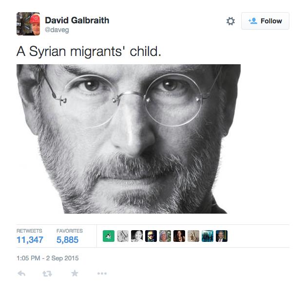 Steve Jobs - Từ con của một người tị nạn Syria đến vĩ nhân thay đổi cả thế giới ảnh 1