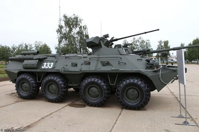 Xe bọc thép BTR-82A của Nga đến Syria ảnh 3