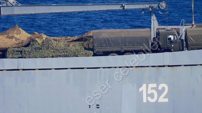 Xe bọc thép BTR-82A của Nga đến Syria ảnh 1