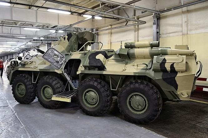 Xe bọc thép BTR-82A của Nga đến Syria ảnh 4