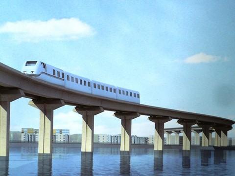 Toa tàu mẫu đường sắt Cát Linh - Hà Đông sẽ về Việt Nam trong tháng 10 ảnh 1
