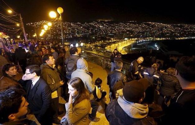 Sóng thần sau động đất 8,3 độ Richter tại Chile, triệu người đi sơ tán ảnh 7
