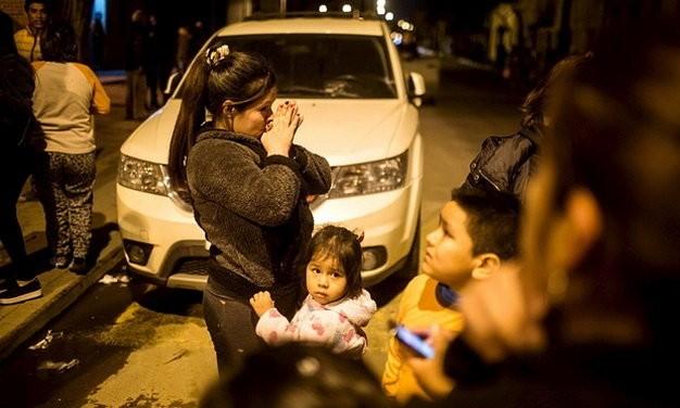 Sóng thần sau động đất 8,3 độ Richter tại Chile, triệu người đi sơ tán ảnh 8