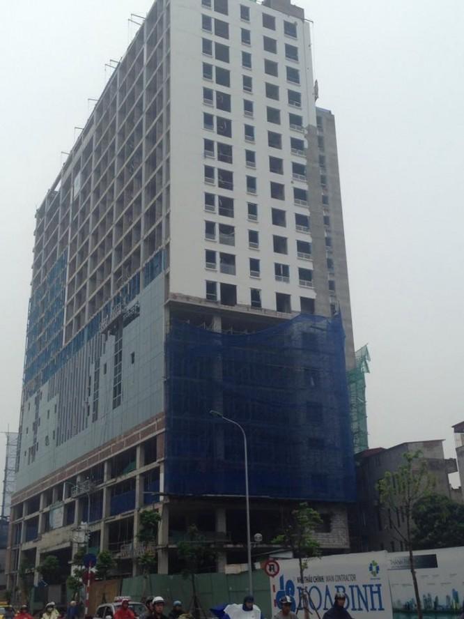 Tòa nhà Kinh Đô Tower tại quận Ba Đình xây vượt tầng cho phép? ảnh 1