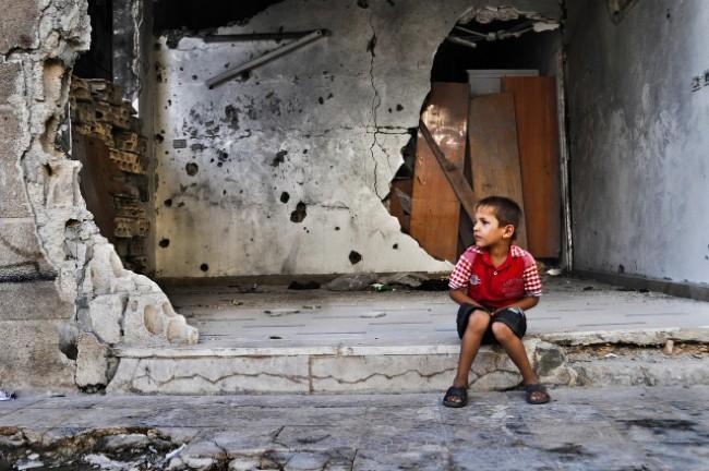 Cuộc sống địa ngục của trẻ em Syria ảnh 2