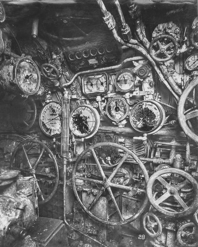 """""""Mổ bụng"""" tàu ngầm U-Boat nổi tiếng của Đức ảnh 7"""