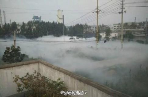 Trung Quốc: Rò rỉ khí độc, trẻ ho ra máu ảnh 2