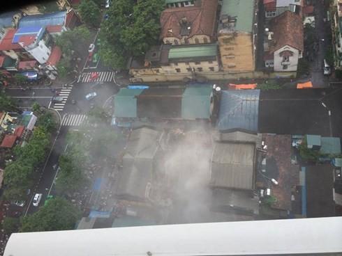 Sập nhà cổ tại 107 Trần Hưng Đạo, 2 phụ nữ tử vong ảnh 6
