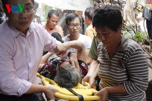 Sập nhà cổ tại 107 Trần Hưng Đạo, 2 phụ nữ tử vong ảnh 3