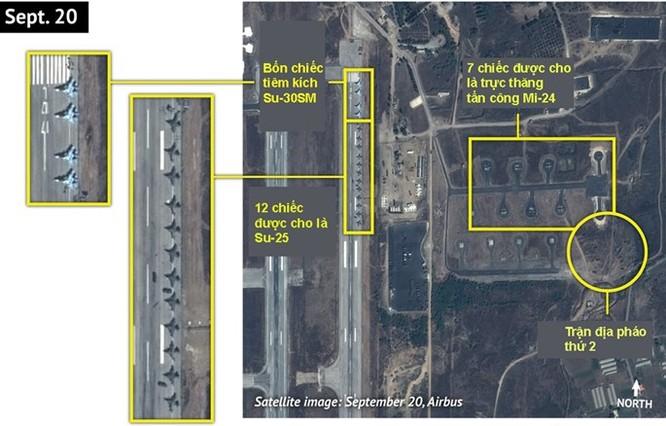 Mạng Nga công khai thông tin số tiêm kích Su-30SM tại Syria ảnh 1