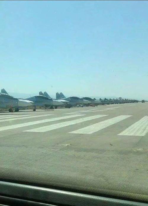 Mạng Nga công khai thông tin số tiêm kích Su-30SM tại Syria ảnh 2