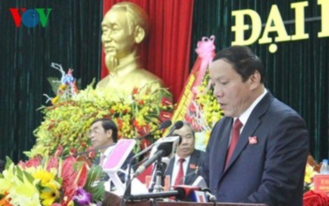 Ông Nguyễn Văn Hùng, Phó Bí thư Tỉnh ủy được bầu làm Bí Thư Tỉnh ủy Quảng Trị, nhiệm kỳ 2015-2020