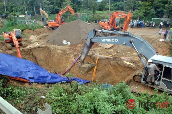 Cận cảnh đoạn vỡ đường ống dẫn nước sạch Sông Đà lần thứ 15 ảnh 9