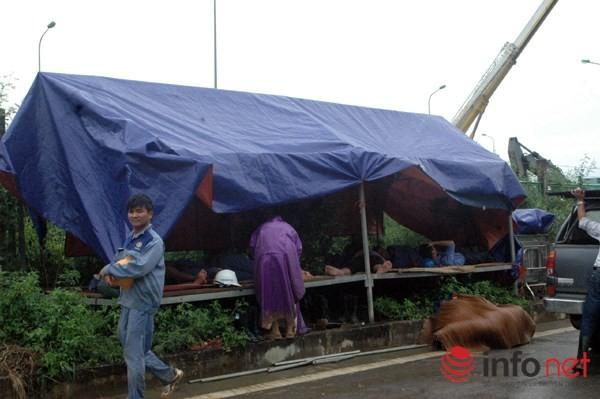 Cận cảnh đoạn vỡ đường ống dẫn nước sạch Sông Đà lần thứ 15 ảnh 13