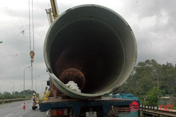 Cận cảnh đoạn vỡ đường ống dẫn nước sạch Sông Đà lần thứ 15 ảnh 5