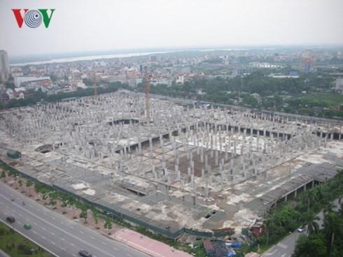 Dự án đại siêu thị Ciputra sau 5 năm mới xây xong phần móng ảnh 1