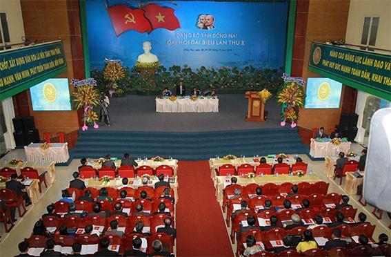 Thủ tướng Nguyễn Tấn Dũng dự Đại hội Đảng bộ tỉnh Đồng Nai ảnh 3
