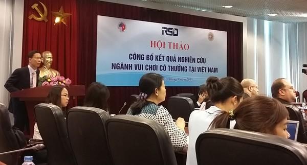'Đốt' 1.379 tỷ đồng giải khuây trong sòng bài Việt Nam ảnh 1