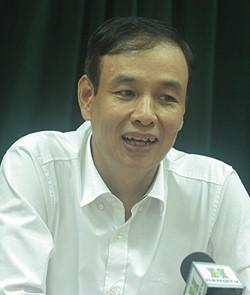 Ông Đào Đức Toàn, Trưởng ban Tổ chức Thành ủy Hà Nội.