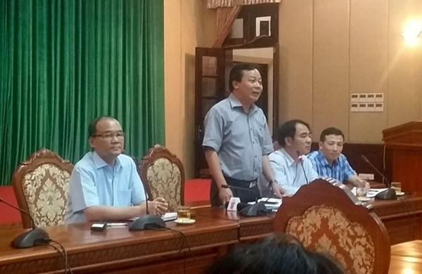 Hôm nay Hà Nội báo cáo Thủ tướng về tòa nhà 8B Lê Trực ảnh 1
