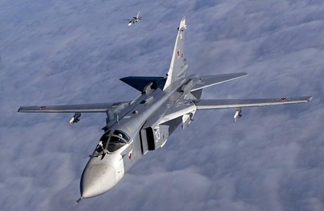Hơn 50 máy bay Nga tham gia oanh kích IS ở Syria ảnh 1