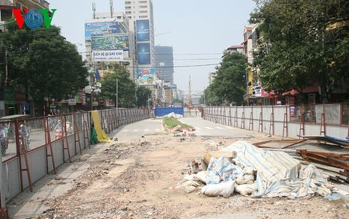 Dự án đường sắt đô thị Nhổn - ga Hà Nội ì ạch: Ban quản lý nói gì? ảnh 1