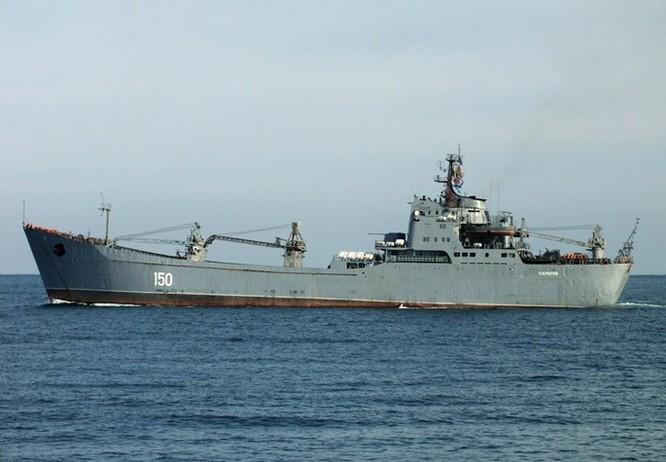 Tàu chiến Nga triển khai bảo vệ một phần không phận Syria ảnh 2