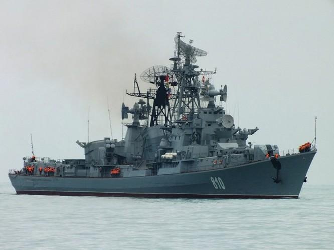 Tàu chiến Nga triển khai bảo vệ một phần không phận Syria ảnh 1