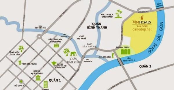 Vingroup ứng 1.100 tỉ nâng cấp đường Nguyễn Hữu Cảnh - Ung Văn Khiêm ảnh 1