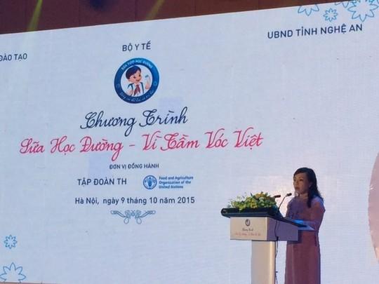 6.000 tỉ đồng cải thiện tầm vóc thấp, còi của người Việt ảnh 1