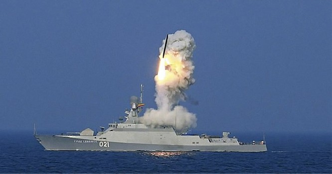 """Báo Mỹ """"tâm phục khẩu phục"""" tàu tên lửa nhỏ nhưng hoả lực lớn của Nga ảnh 1"""