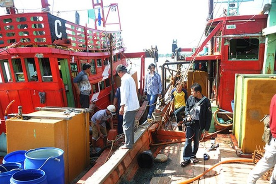 Thái Lan bắt giữ 2 tàu cá Việt Nam ảnh 1