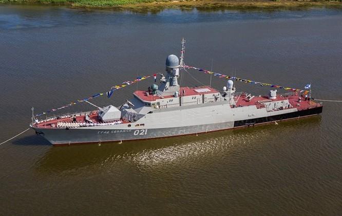 Clip trên tàu chiến lớp Gepard phóng tên lửa Klub diệt IS ở Syria ảnh 5
