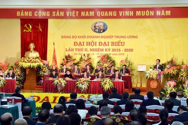 Thủ tướng chỉ đạo Đại hội Đảng bộ Khối Doanh nghiệp TƯ ảnh 1
