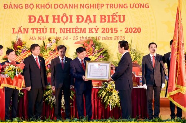 Thủ tướng chỉ đạo Đại hội Đảng bộ Khối Doanh nghiệp TƯ ảnh 2