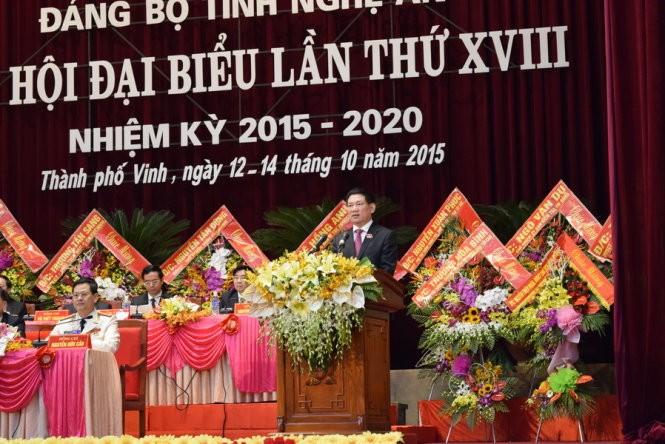 Hàng loạt bí thư tỉnh ủy tái đắc cử nhiệm kỳ 2015 - 2020 ảnh 3