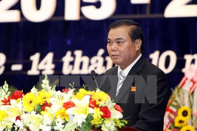 Hàng loạt bí thư tỉnh ủy tái đắc cử nhiệm kỳ 2015 - 2020 ảnh 4