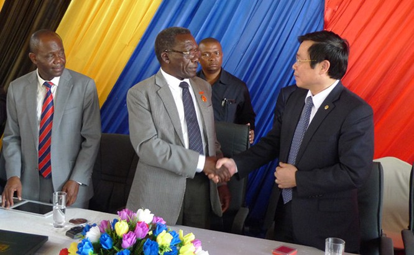 Bộ trưởng Nguyễn Bắc Son dự khai trương mạng Halotel ở châu Phi ảnh 1
