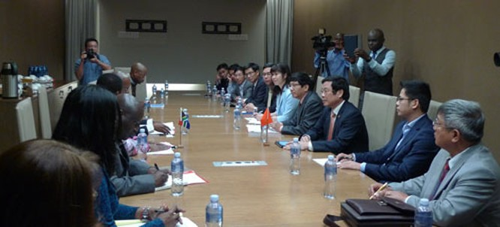 Việt Nam - Nam Phi đẩy mạnh hợp tác về viễn thông ảnh 2