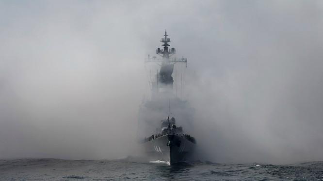 Hạm đội Nhật trình diễn sức mạnh quân sự ảnh 5