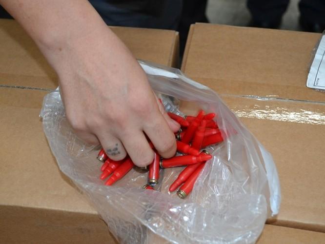 144.000 viên đạn nhập khẩu trái phép vào TP.HCM ảnh 2