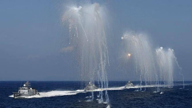 Hạm đội Nhật trình diễn sức mạnh quân sự ảnh 2